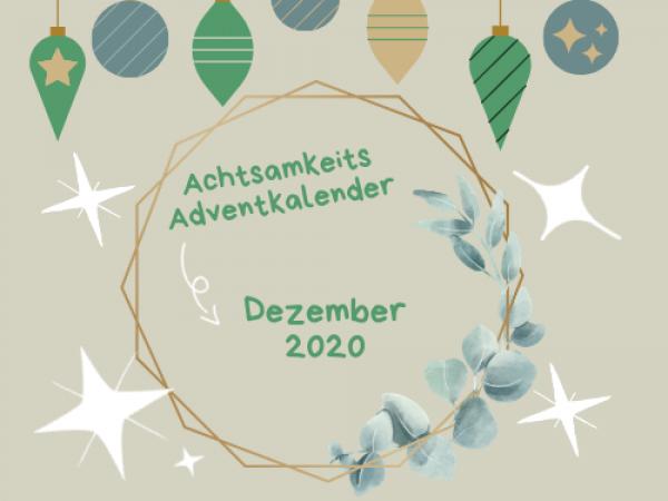 Achtsamkeits-Adventkalender